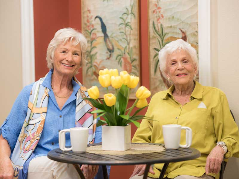 Aravilla Sarasota Senior Memory Care Residents